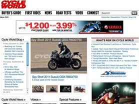 CYCLEWORLD US website