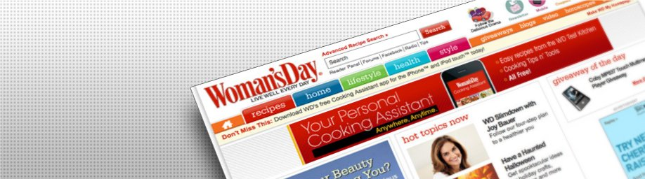 Woman's day US website